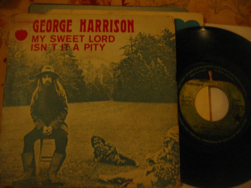 GEORGE HARRISON - MY SWEET LORD - APPLE FRANCE