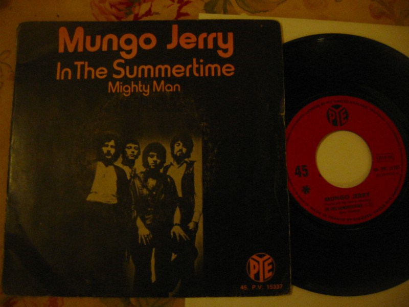 MUNGO JERRY - IN THE SUMMERTIME - PYE FRANCE