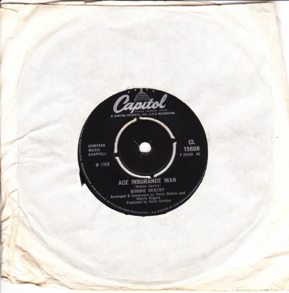 Bobbie Gentry - I'll never fall in love again - Capitol UK 4104