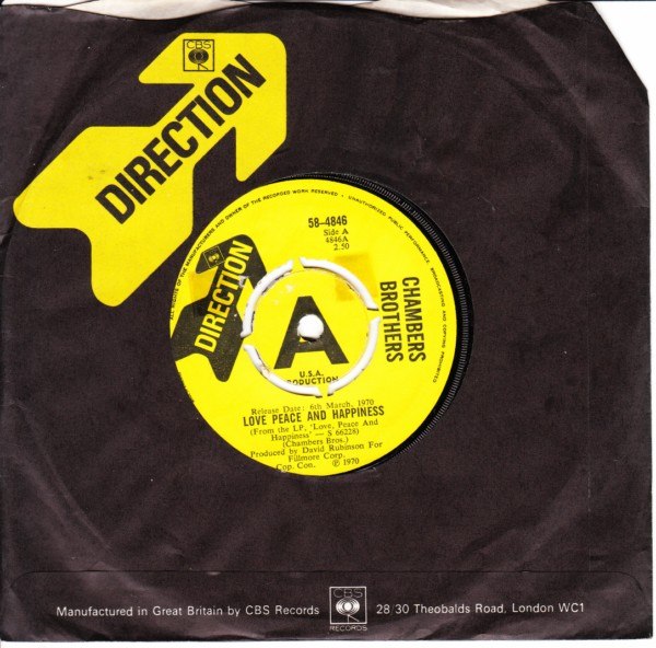 Chambers Brothers - Love Peace happiness- Direction Demo 4115