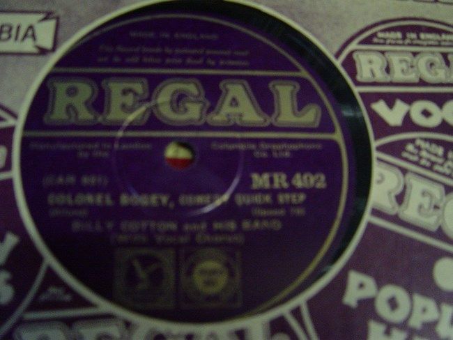 Billy Cotton - Minnie the Moocher - Regal MR. 492 Mint Minus