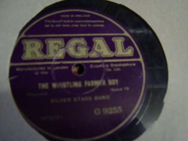 Silver Stars Band - Whisteling Farmer Boy - Regal G.9255