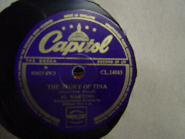 Al Martino - The Story of Tina - Capitol CL.14163