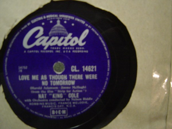 Nat King Cole - Thats all there is to that - Capitol CL14621