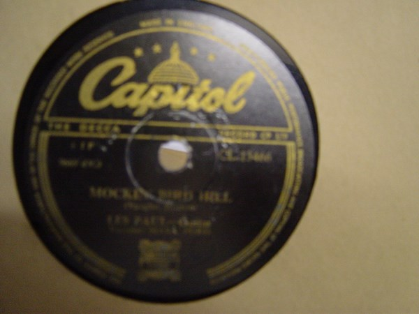 Les Paul & Mary Ford - Chicken Reel - Capitol CL 13466