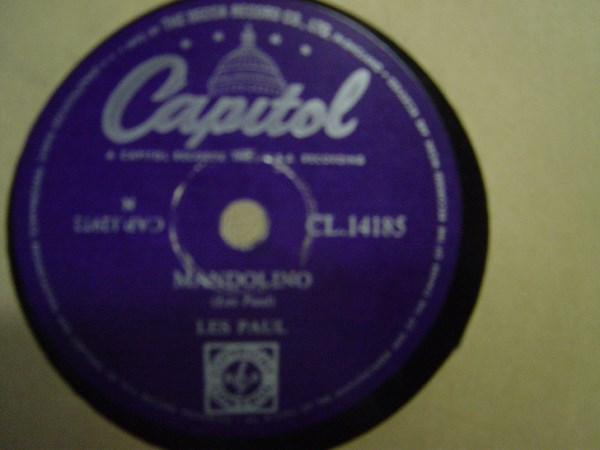 Les Paul & Mary Ford - Whither thou goest - Capitol CL 14185