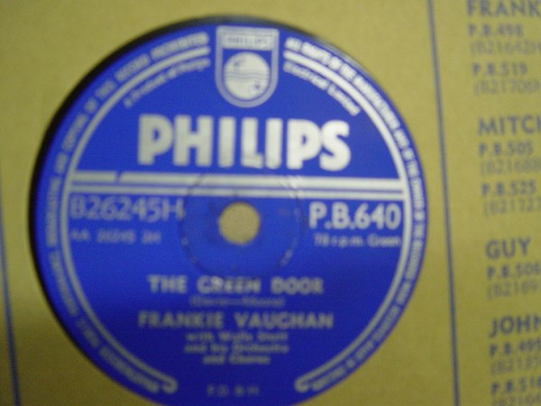 Frankie Vaughan - The Green Door - Philips PB.640