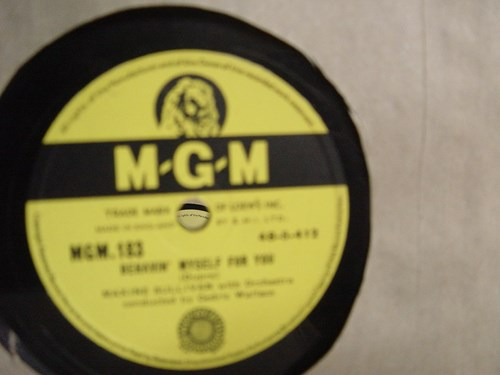 Maxine Sullivan - Behavin' myself for you - MGM 183