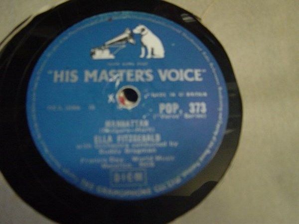 Ella Fitzgerald - Manhattan - HMV POP.373