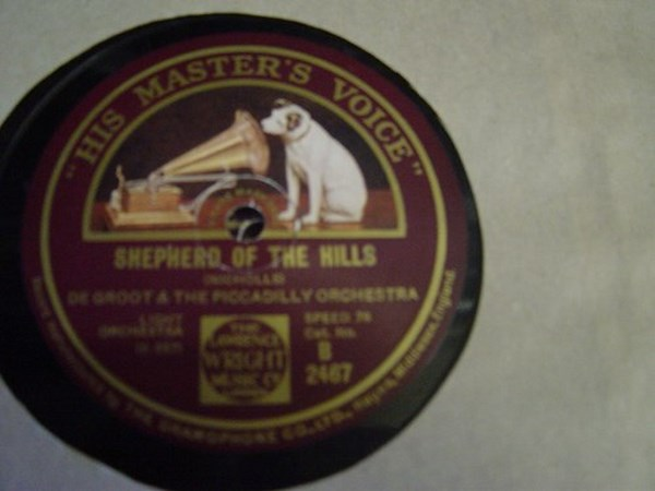 De Groot - Shepherd on the Hills - HMV B.2467