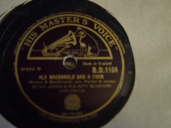 Spike Jones - Old Macdonald had a Farm - HMV B.D.1164