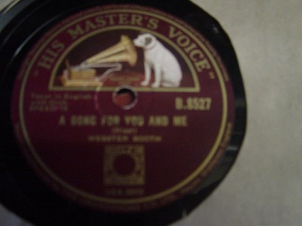 Webster Booth - Moon of Romance - HMV B.8527