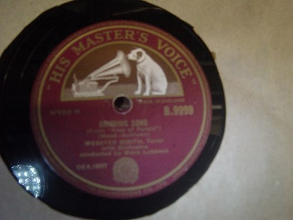 Webster Booth - Drinking Song - HMV B.9999