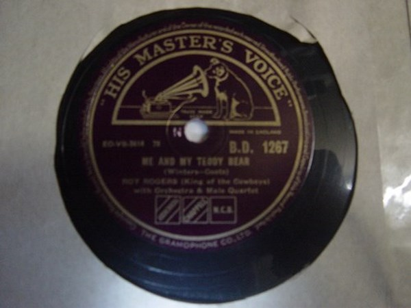 Roy Rogers - Buffalo Billy - HMV B.D.1267 Mint Minus