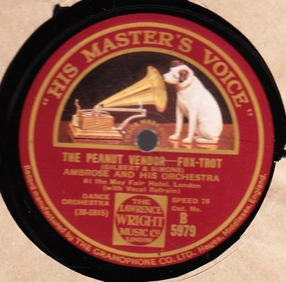 Ambrose & Orchestra - The Peanut Vendor - HMV B.5979