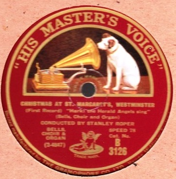 Christmas at St. Margaret's Westminster - Stanley Roper - HMV