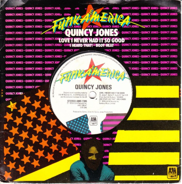 Quincy Jones - Love I never had it so good - Promo 3 track 4422