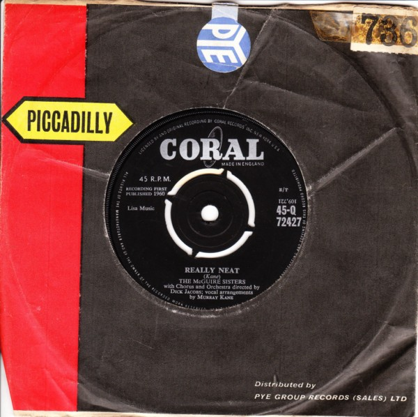 McGuire Sisters - Really Neat - Coral 4434