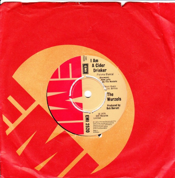 The Wurzels - I am a cider drinker - EMI UK 4440