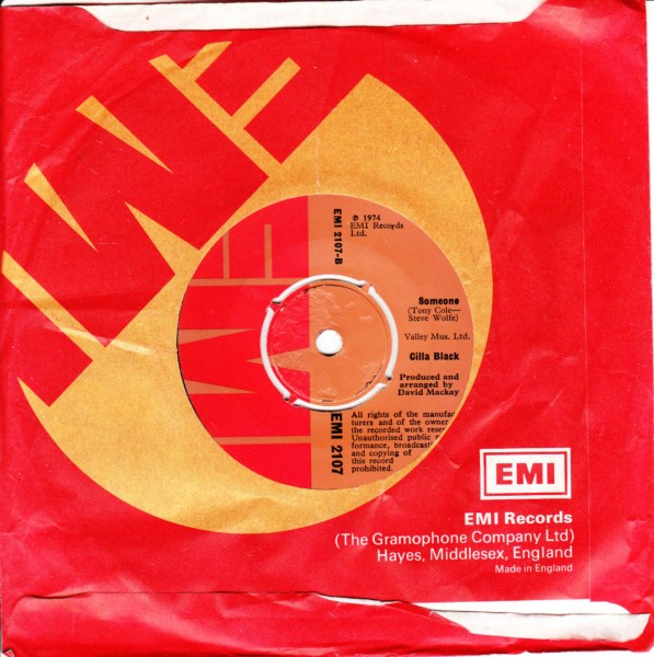 Cilla Black - Baby we cant go wrong - EMI UK 4441