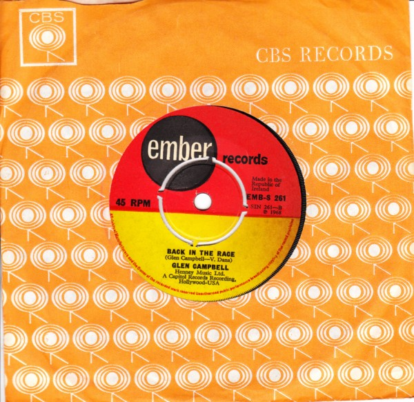 Glen Campbell - Wichita Lineman - Ember Irish - 4449