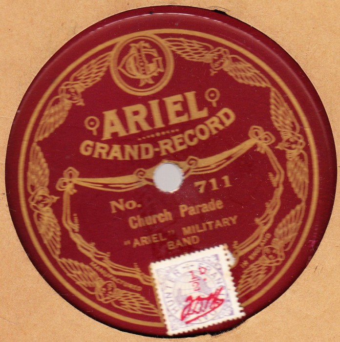 Ariel Military Band - Onward Christian Soldiers - Ariel 711