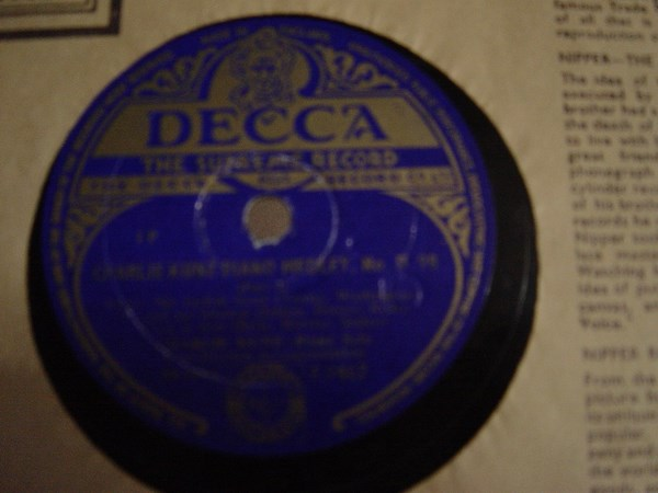 Charlie Kunz - Piano Medley No. 098 - Decca F.9467 UK
