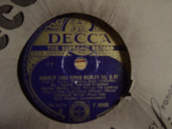 Charlie Kunz - Piano Medley No. 087 - Decca F. 9008 UK
