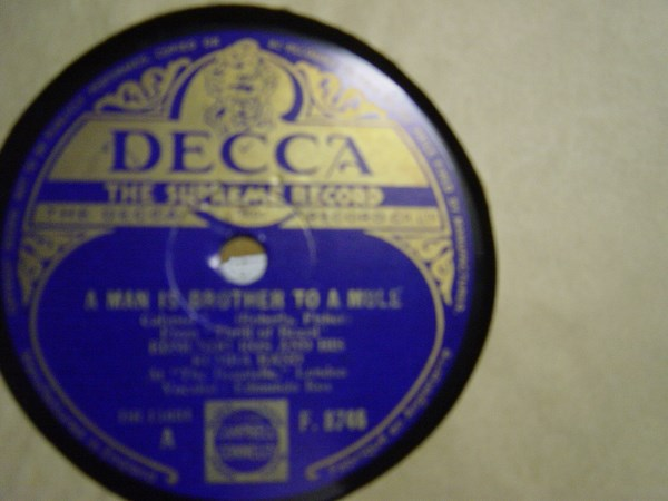 Edmundo Ros - A Man is Brother to a Mule - Decca F.8746 UK