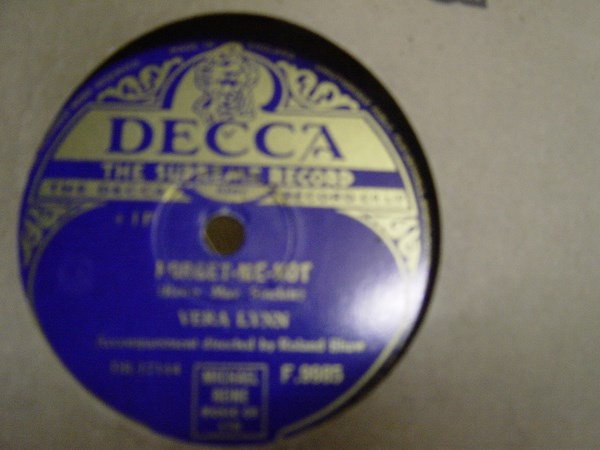 Vera Lynn - Forget me Not - Decca F. 9985 UK