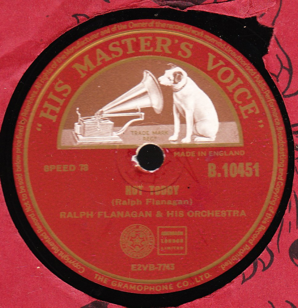 Ralph Flanagan - Hot Toddy - HMV B.10451