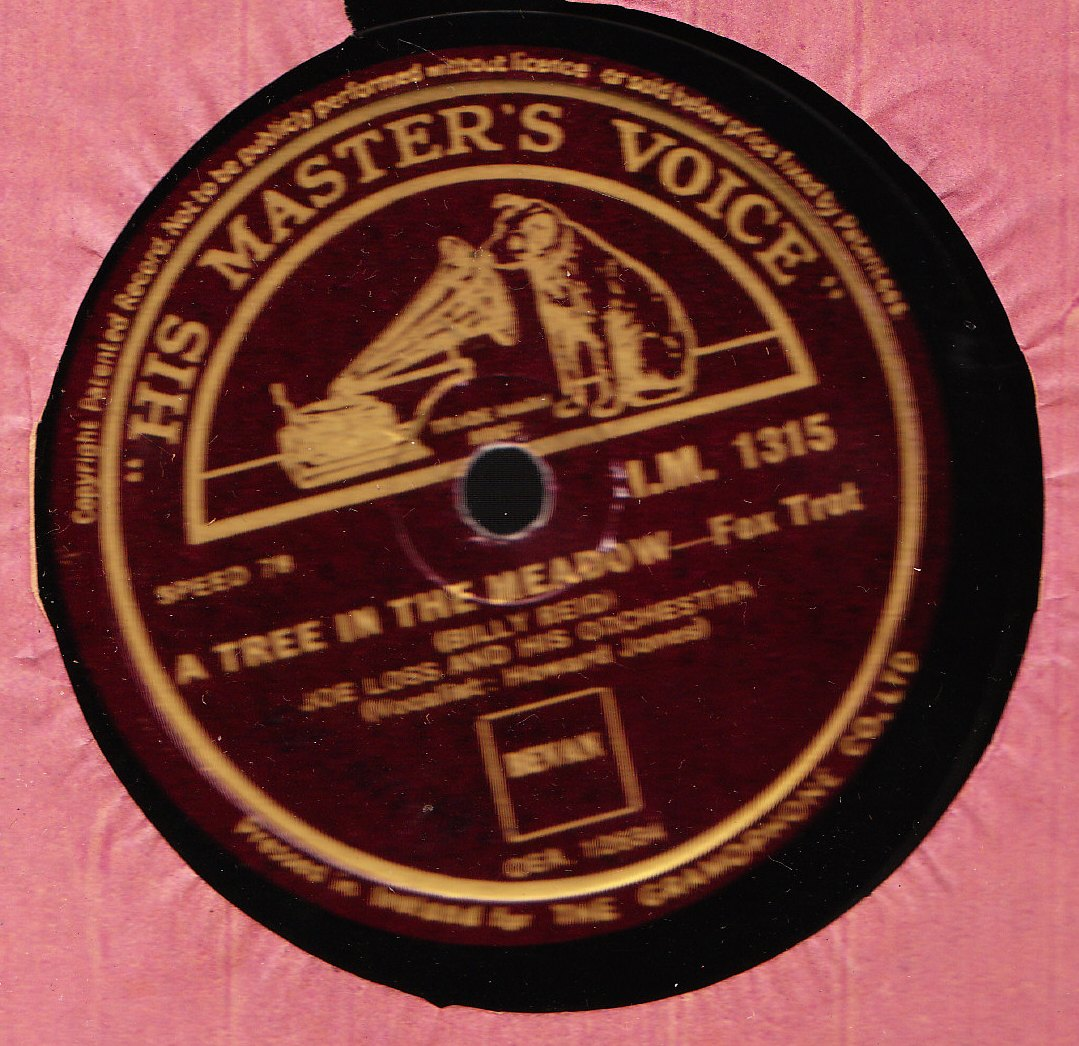 Joe Loss - The Flower Seller - HMV IM 1315 - Irish