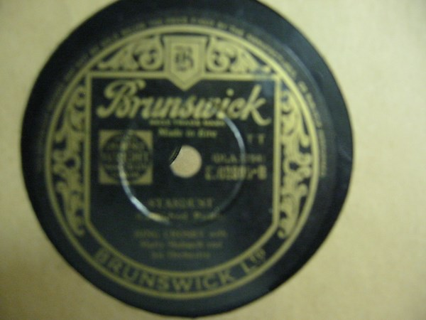 Bing Crosby - I cried for You - Brunswick E02805 Irish