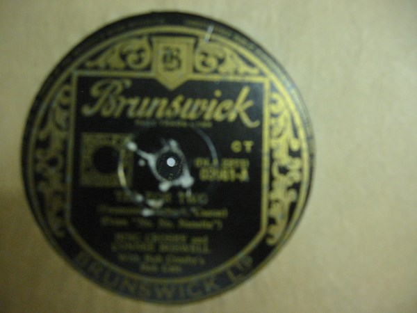 Bing Crosby - Tea for Two - Brunswick 03661