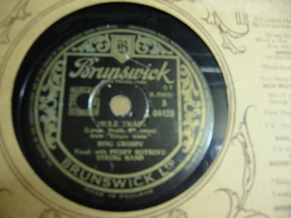 Bing Crosby - Mule Train - Brunswick 04420