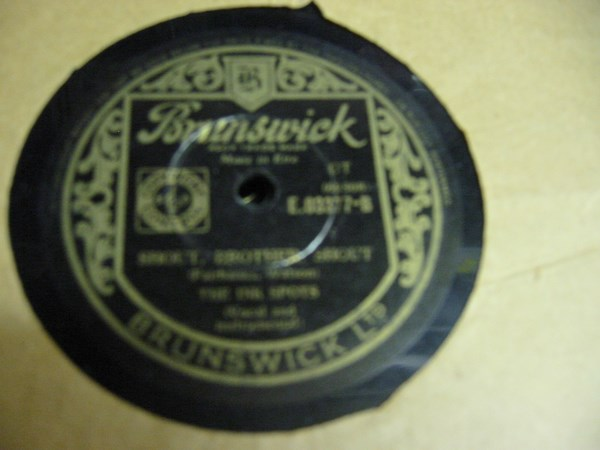 Ink Spots - It isn't a dream anymore - Brunswick 03377