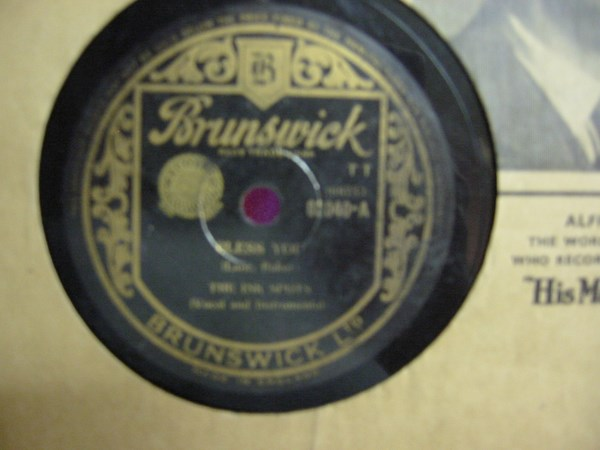 Ink Spots - Bless you - Brunswick 03040 UK