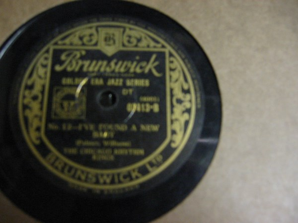 Chicago Rhythm Kings - Therell be Some Changes - Brunswick 03413