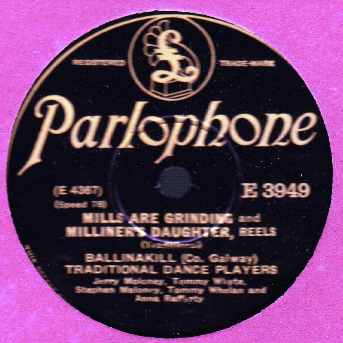 Ballinakill Traditional Dance Players - Parlophone E.3949