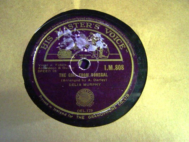 Delia Murphy - The Girl from Donegal - HMV I.M. 808