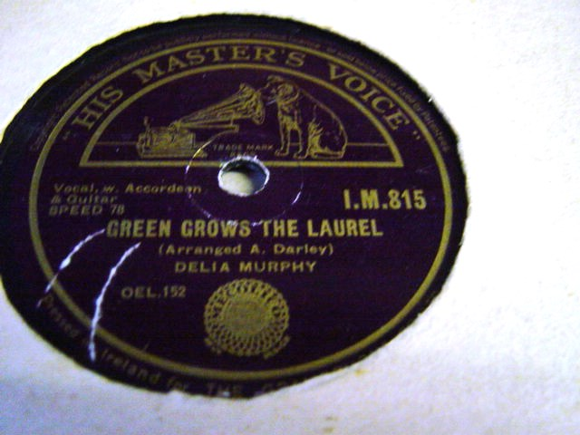 Delia Murphy - Green Grows the Laurel - HMV IM 815