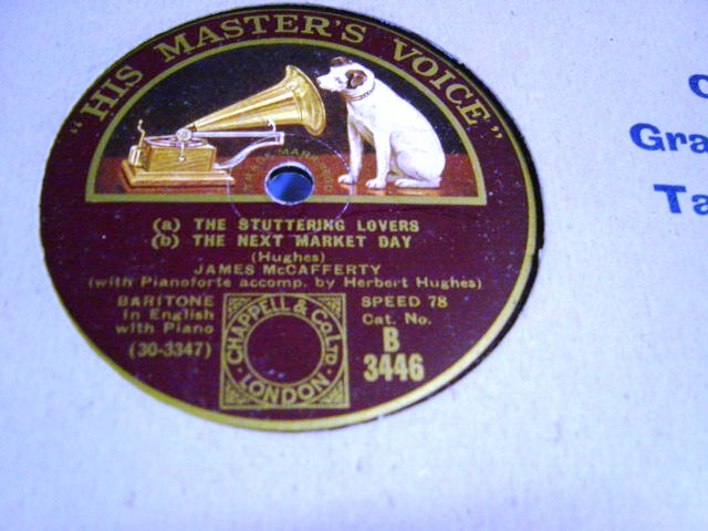 James McCafferty - The Spanish Lady - HMV B.3446