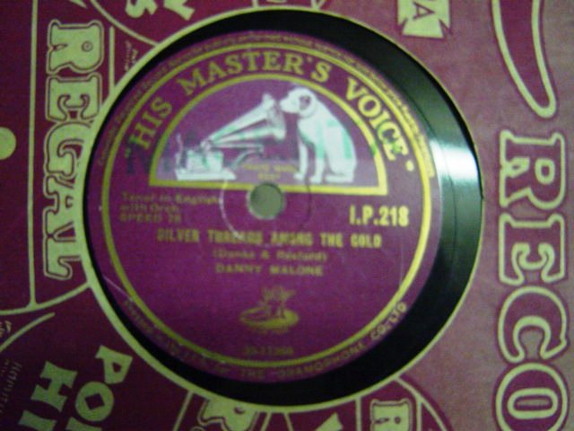 Danny Malone - A Little bit of Heaven - HMV I.P.218