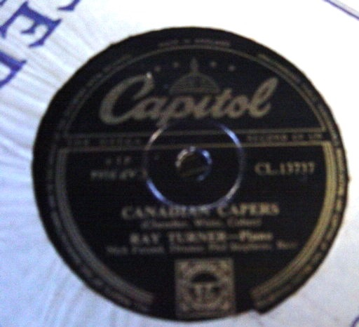 Ray Turner - Dizzy Fingers - Capitol CL 13737