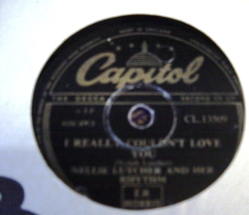 Nellie Lutcher - I really couldn't love you - Capitol CL 13509