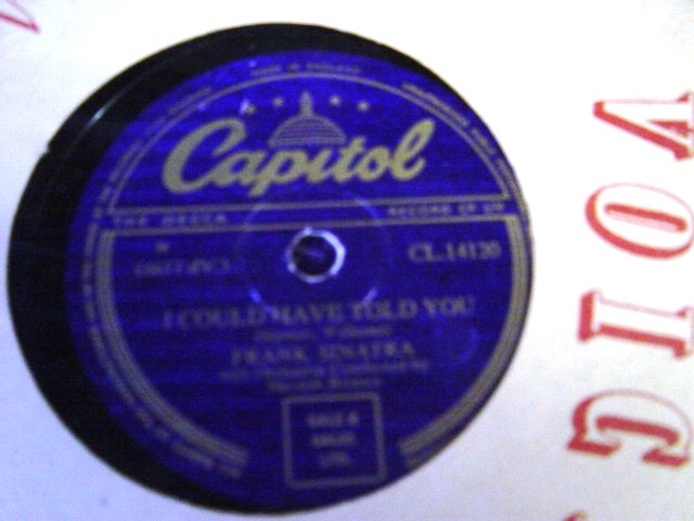 Frank Sinatra - Three coins in Fountain - Capitol CL 14120