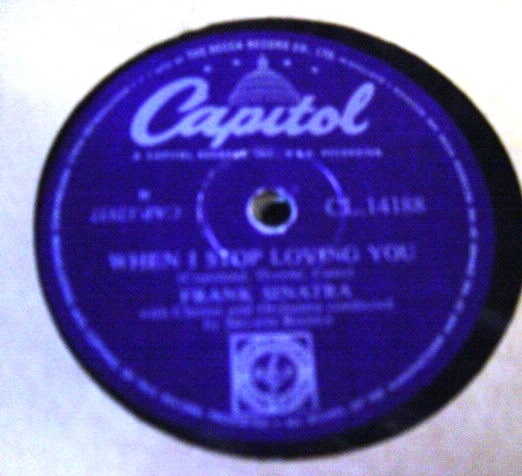 Frank Sinatra - It worries me - Capitol CL 14188
