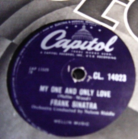 Frank Sinatra - From here to eternity - Capitol CL 14023