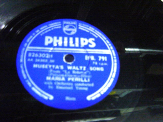 Maria Perilli - One Fine Day - Philips EP.B. 791