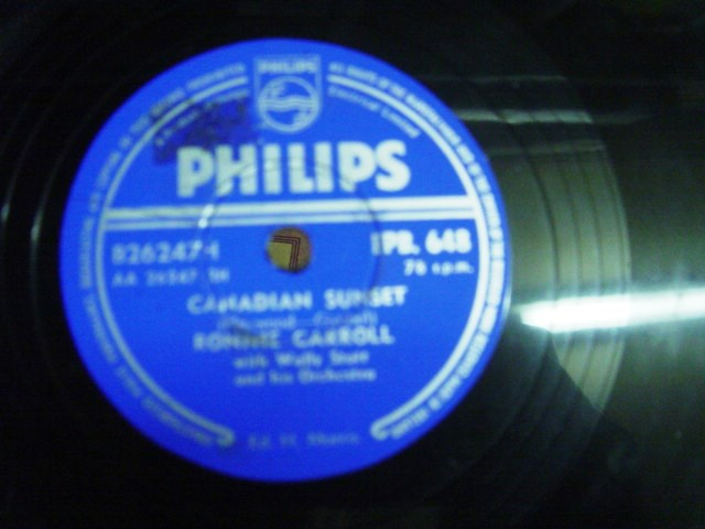Ronnie Carroll - Canadian Sunset - Philips EPB. 648